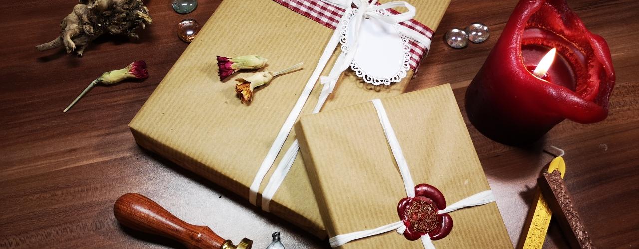 Schöne Geschenkverpackung